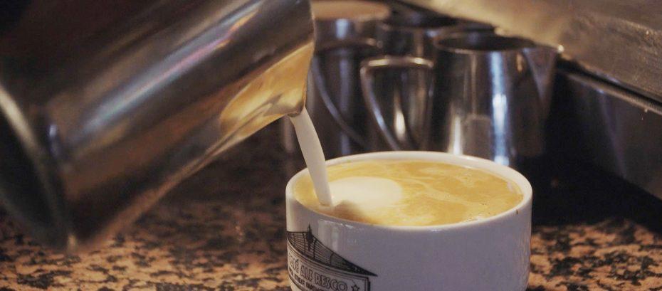 Coffee at Cafe Alf Resco