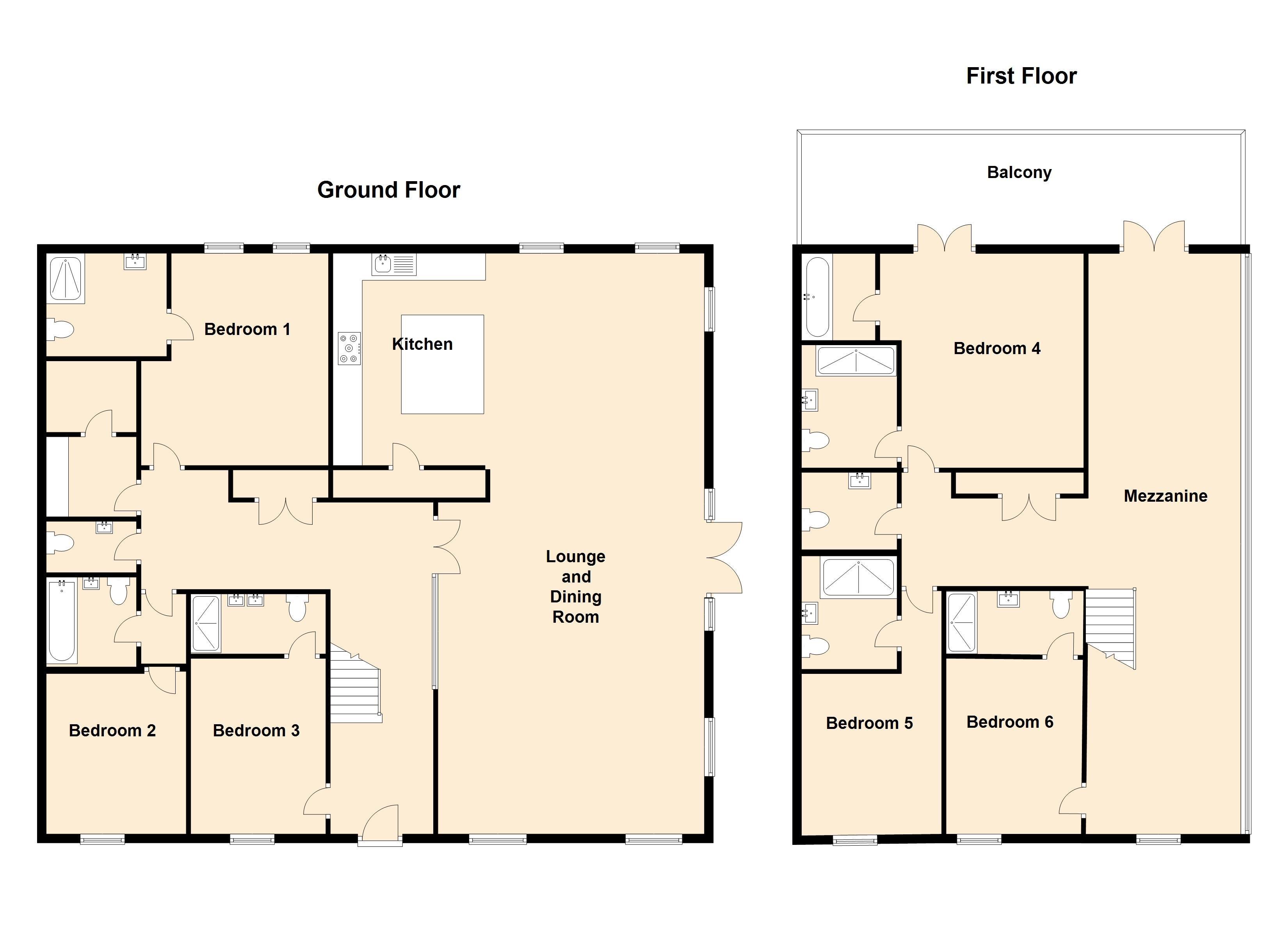 Moult Hill Barn floor plan