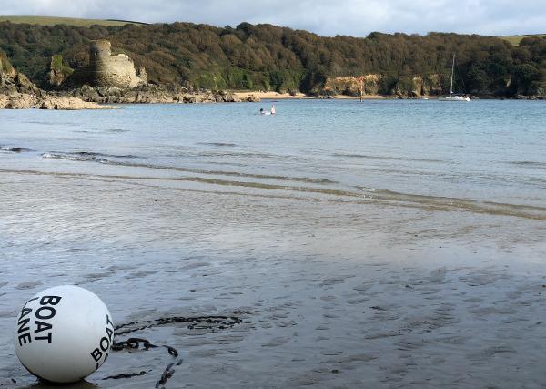 Beach near Malborough