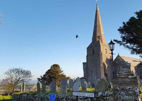 Malborough church