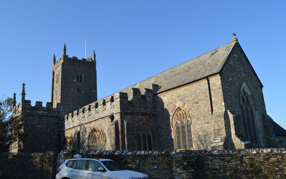 St George's Church in Dittisham