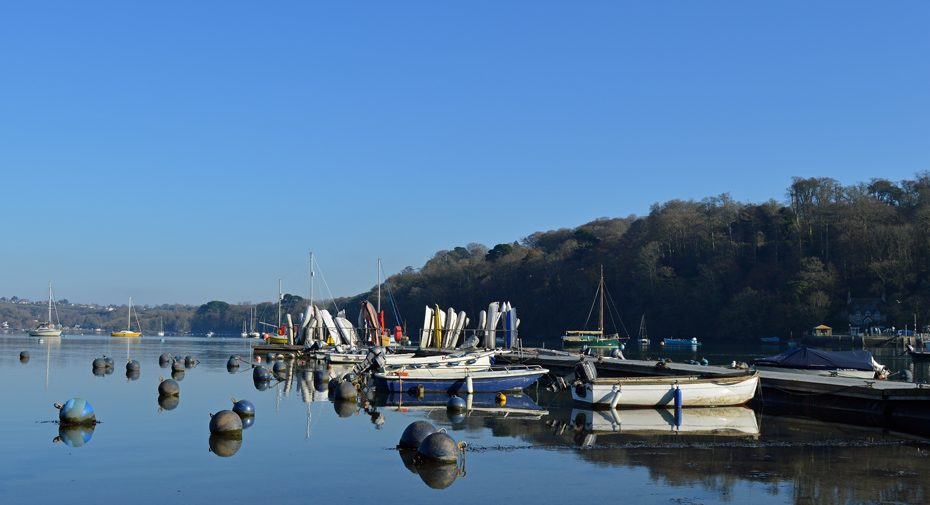 The harbour at Dittisham