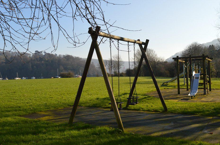 A playground in Dittisham