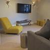 The TV room/snug at Hillfield Farmhouse near Dartmouth