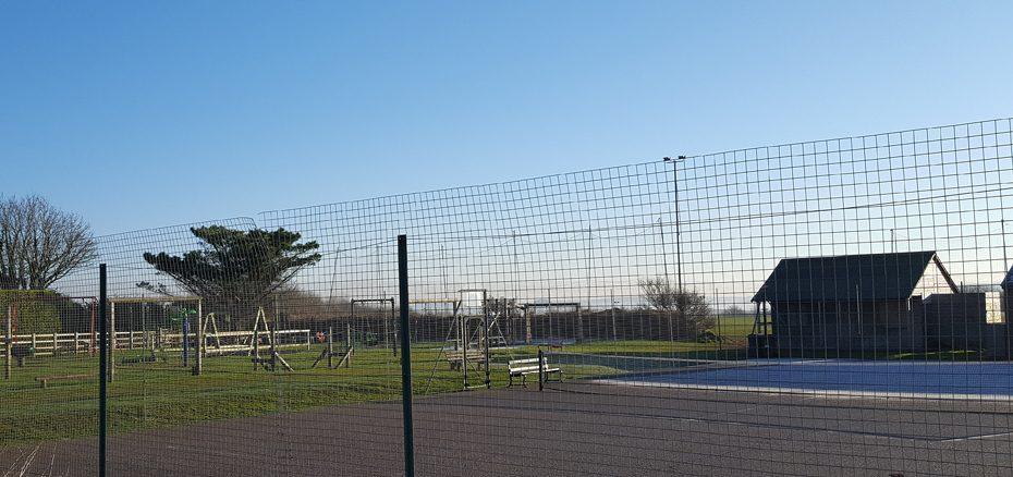Tennis courts in Malborough