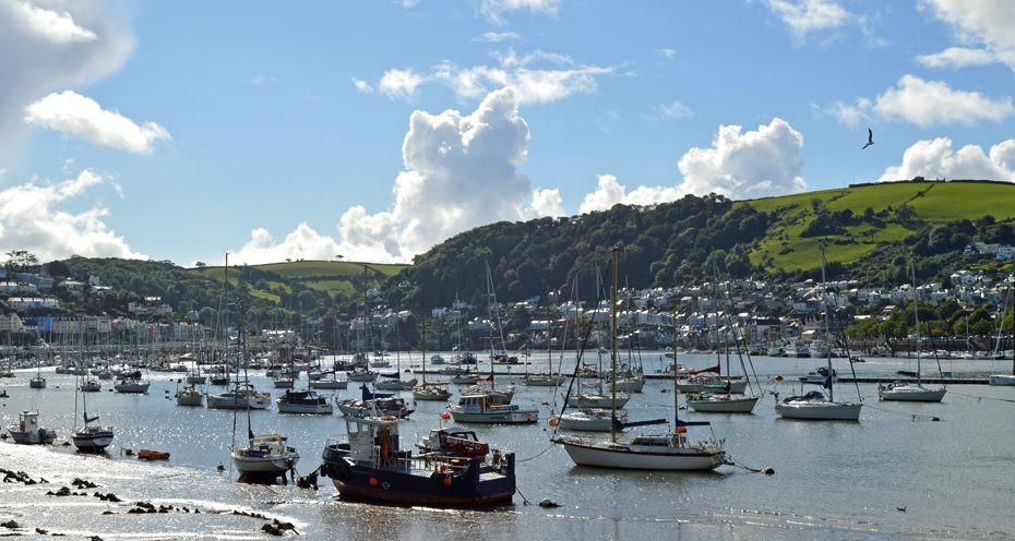 view of dartmouth from kingswear