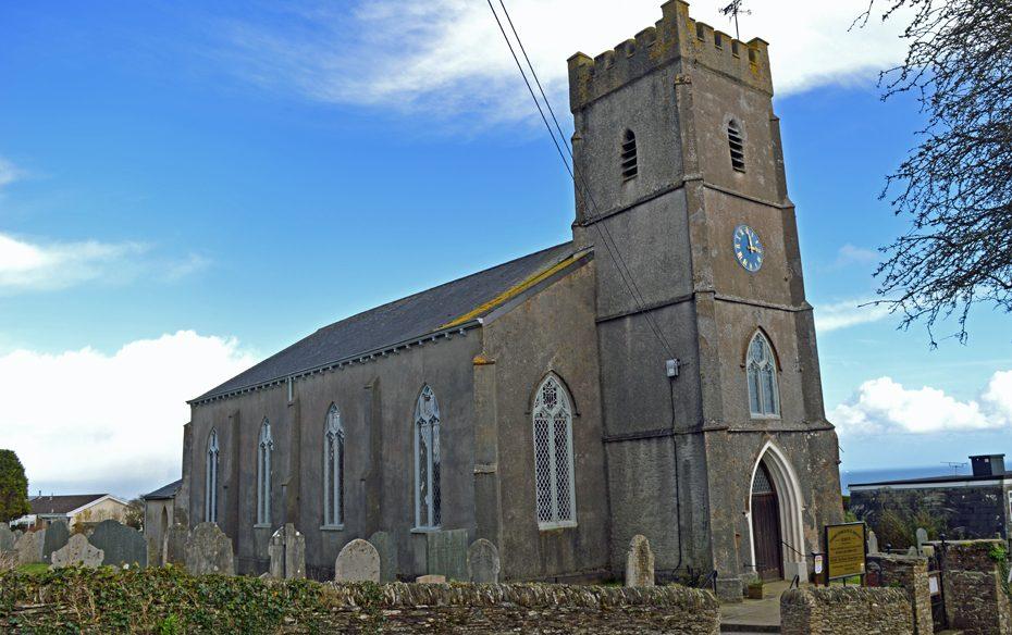 St MIchael's Church in Strete
