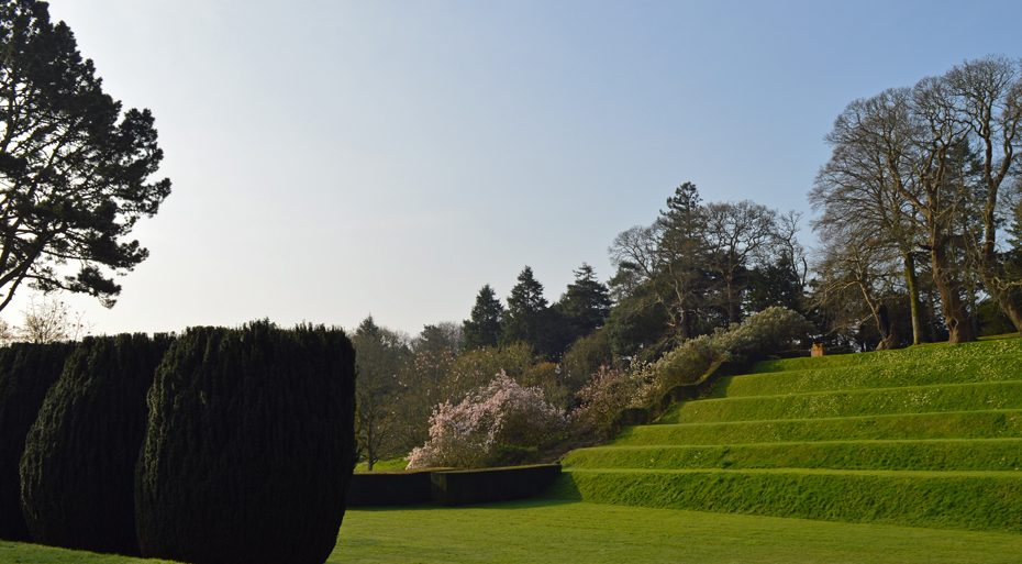 The tiltyard in Dartington Gardens