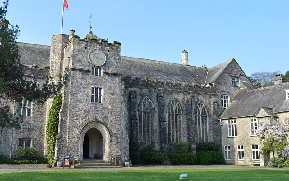 The Great Hall at Dartington, one of the premier venues at the Way with Words festival