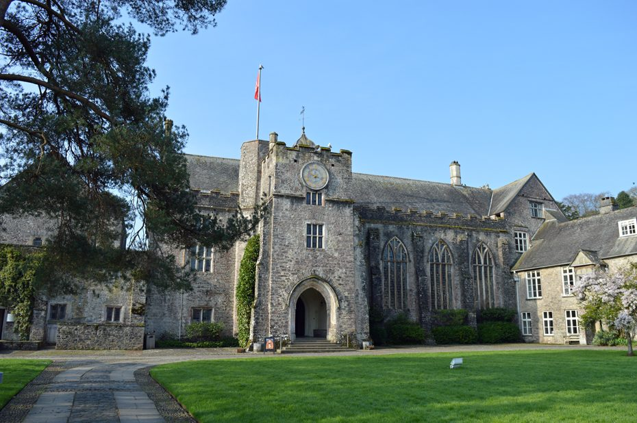 The Great Hall in Dartington Hall