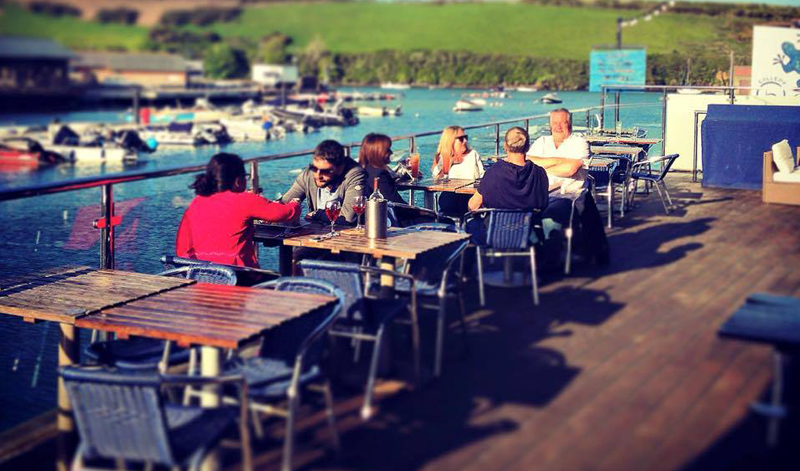 The Island Street Bar & Grill in Salcombe