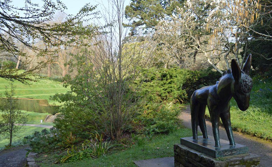 Sculpture in Dartington