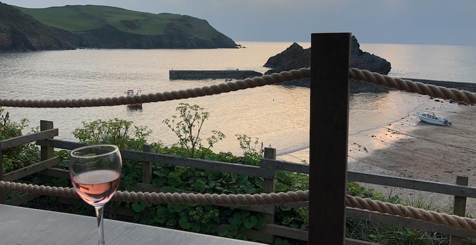 South Devon beach cafes - The Lobster Pods