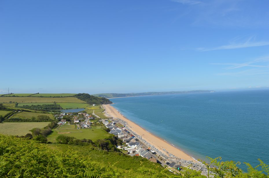 Beesands from the South West Coast Path