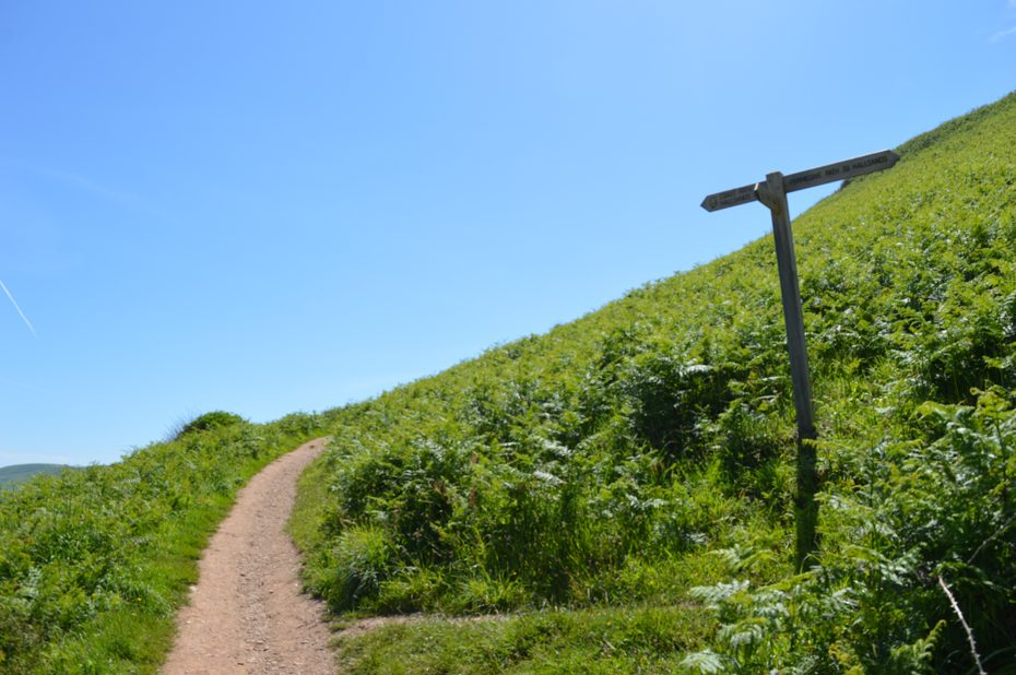 The lower path from Beesands towards Hallsands