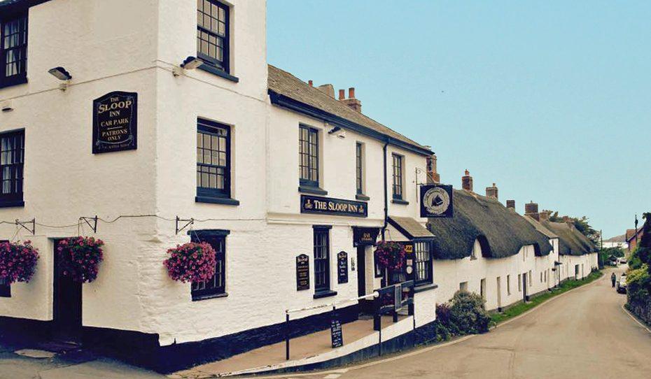 The Sloop Inn at Bantham