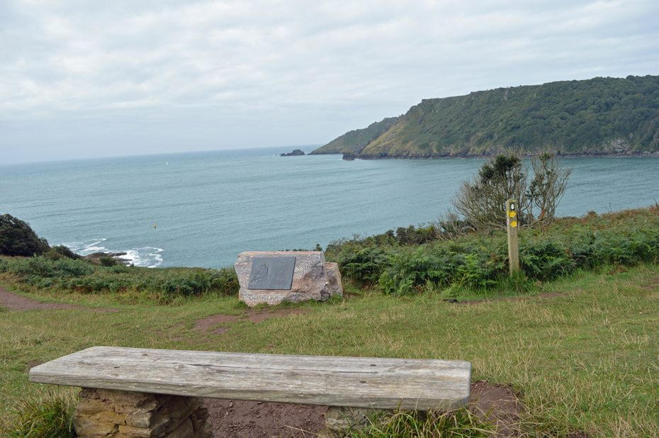 A memorial to the Salcombe Lifeboat Disaster