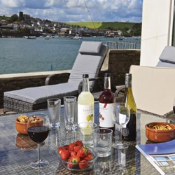 Ferryside with views of the Salcombe Estuary