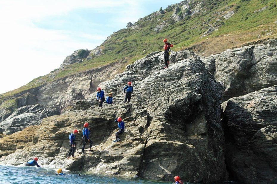 Coasteering off Gara Rock with Adventure South