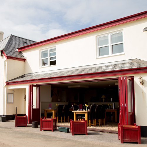 The Cricket Inn in Beesands, one of South Devon's best foodie pubs