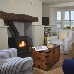 Berry Cottage on the waterfront in Dittisham