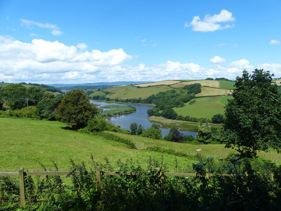 The Sharpham Estate in the Dart Valley