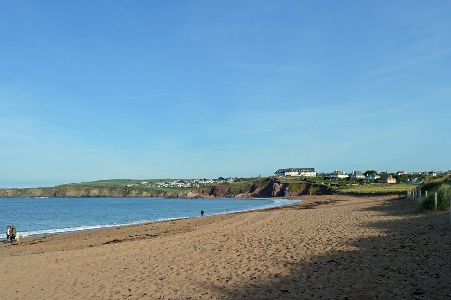 South Milton Sands, looking north towards Thurlestone Sands.
