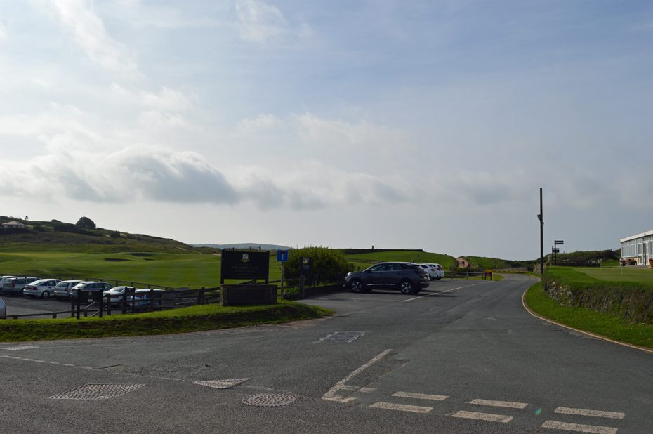 The entrance to Thurlestone Golf Club
