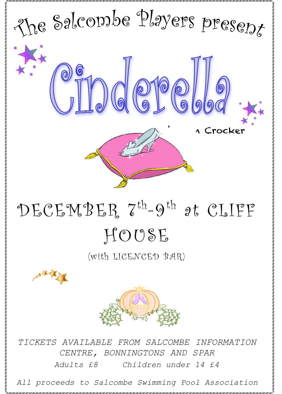 Cinderella by the Salcombe Players