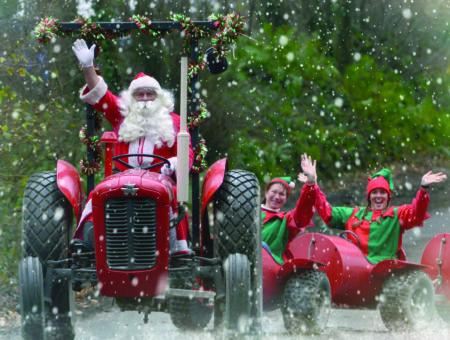 Santa in Devon - Pennywell Farm