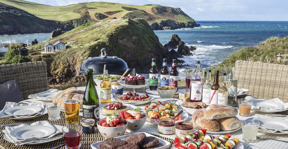 A South Devon Feast at Drake House, Hope Cove