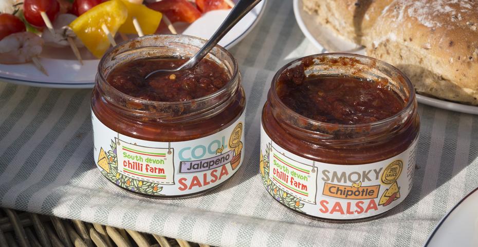 South Devon Chilli Farm salsa