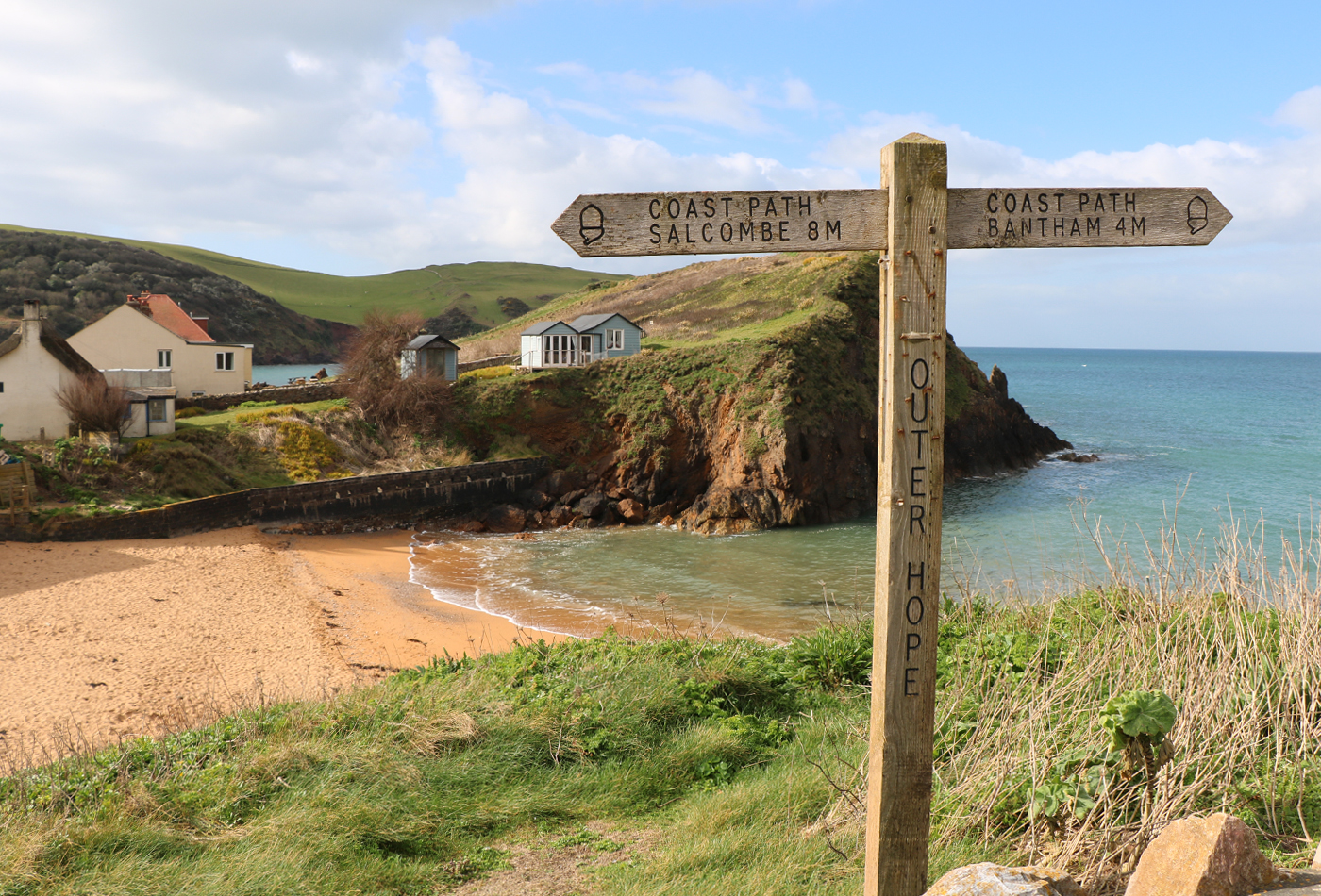 The Coroner filming locations - Hope Cove beach