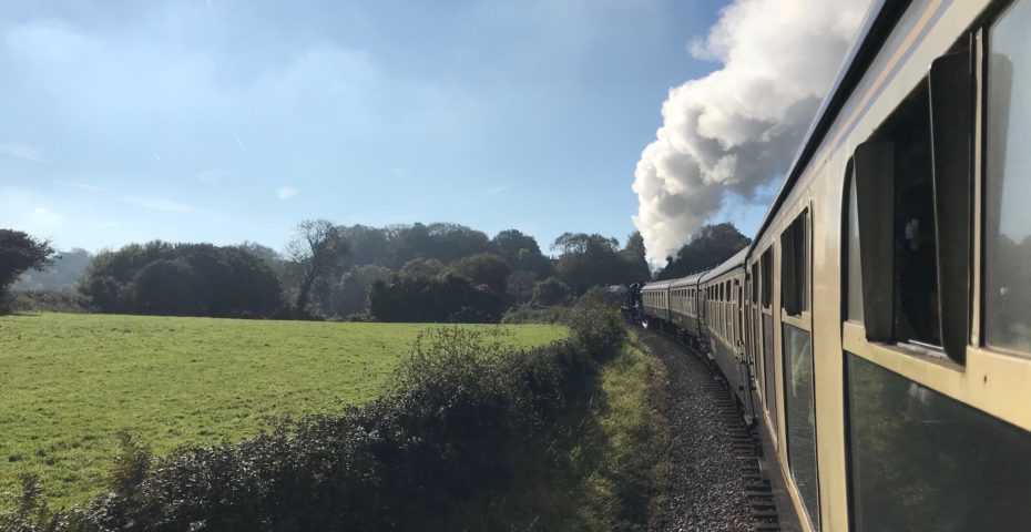 Easter events in South Devon Dartmouth Steam Railway