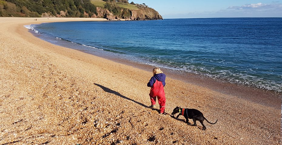 Dog friendly beaches in South Devon - Blackpool Sands