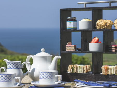 Soar Mill Cove Luxury Afternoon Tea, South Devon