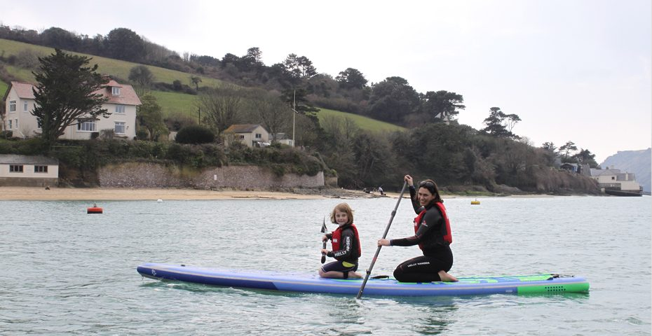 Stand up paddleboarding (SUP) in South Devon - General