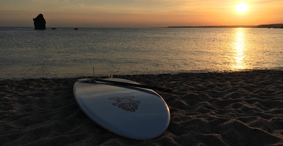 Stand up paddleboarding (SUP) in South Devon - South Milton