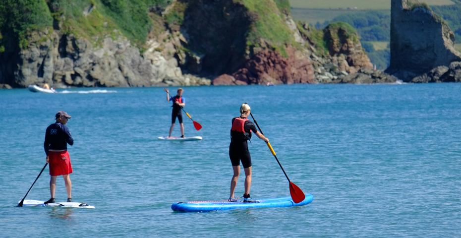 Stand up paddleboarding (SUP) in South Devon - Warfleet Creek