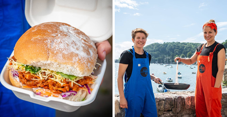 Dartmouth Food Festival 2019 - food from Plant Life