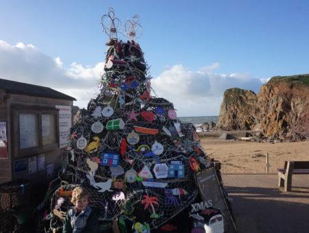 Hope Cove Devon Christmas Day