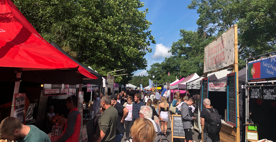 festivals in devon - Dartmouth Royal Regatta