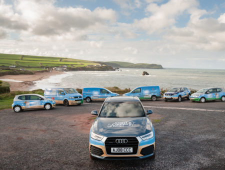 Coast & Country Cottages cars - agency managed service