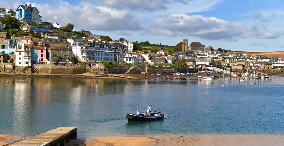 buying a holiday home in Salcombe - estuary view