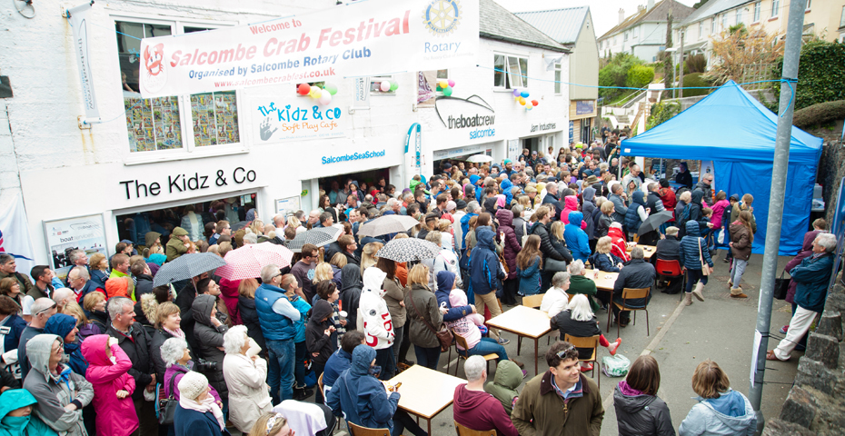 buying a holiday home in Salcombe - Salcombe Crab Fest