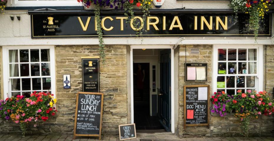 Best pub food in South Devon Victoria Inn