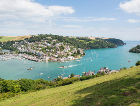 Buying a holiday home in Dartmouth, views from above town