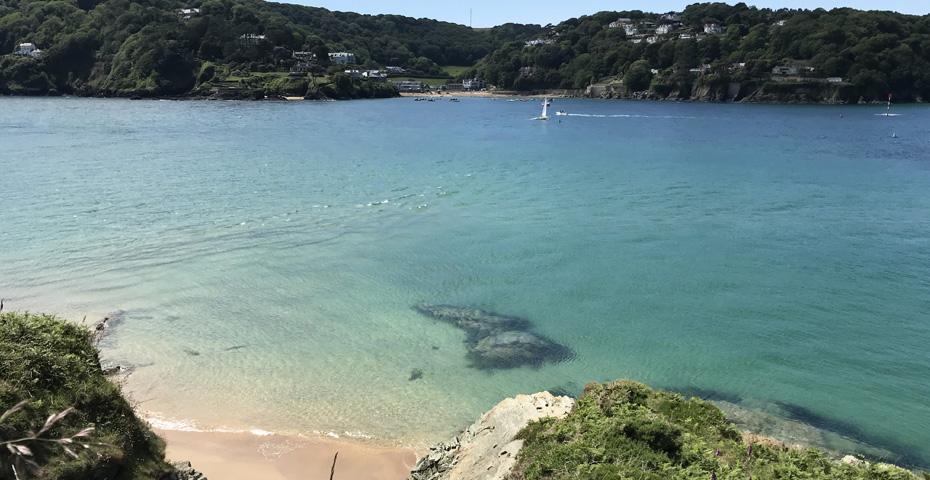 secret Devon beaches - Sunny Cove