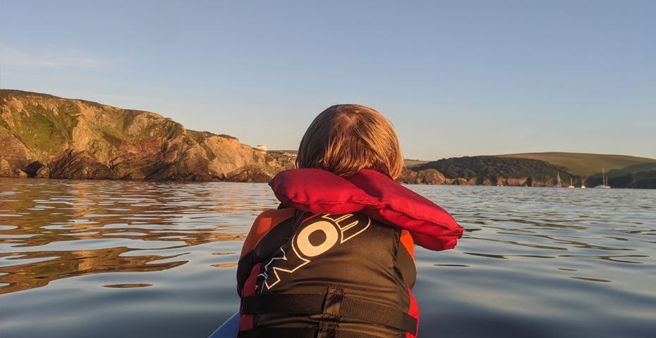 Kayaking in South Devon - South Milton Sands