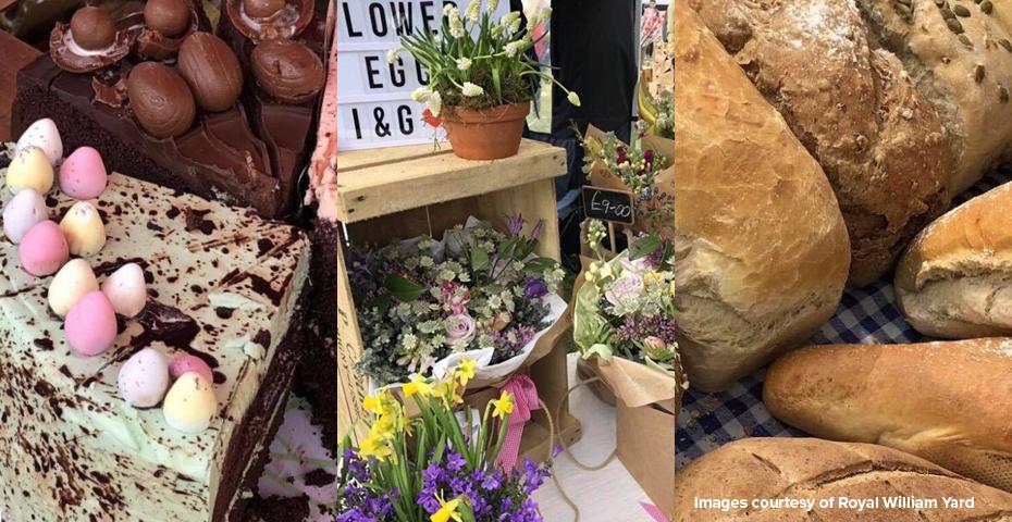 Devon farmers markets - Royal William Yard market
